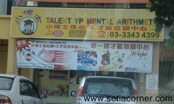 Talent YP Mental Arithmetic
