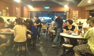 Full house in Win Soon Cafe