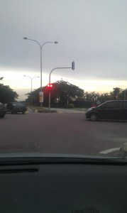 setia alam traffic light