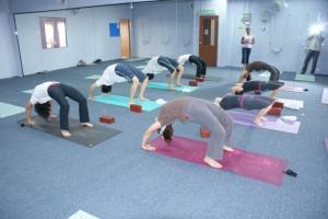 Sahasra Yoga class